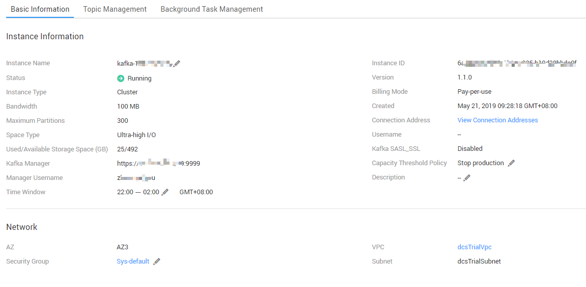 Connecting to Kafka Manager and Viewing Kafka
